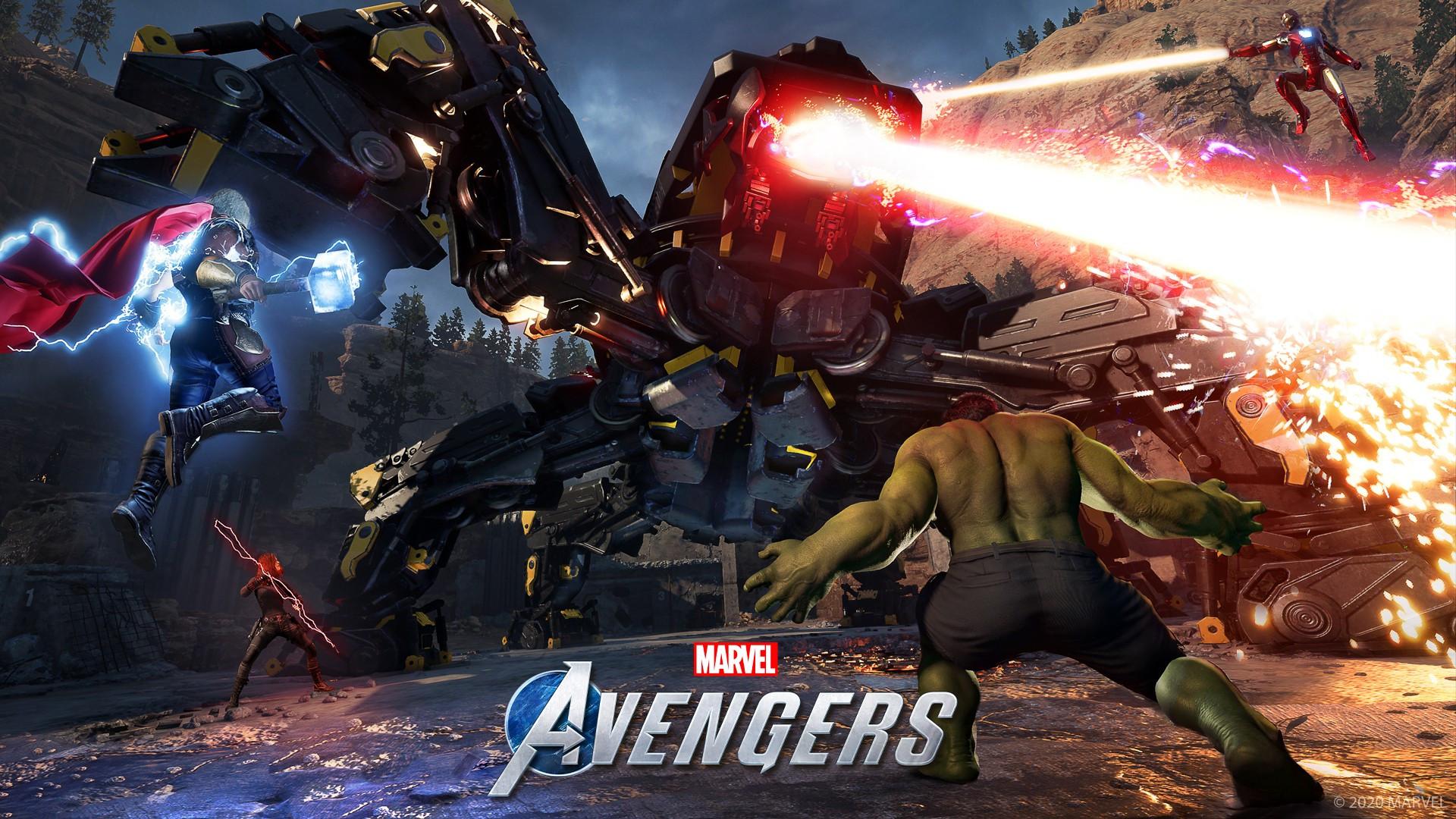 marvels avengers game hd wallpaper 74176