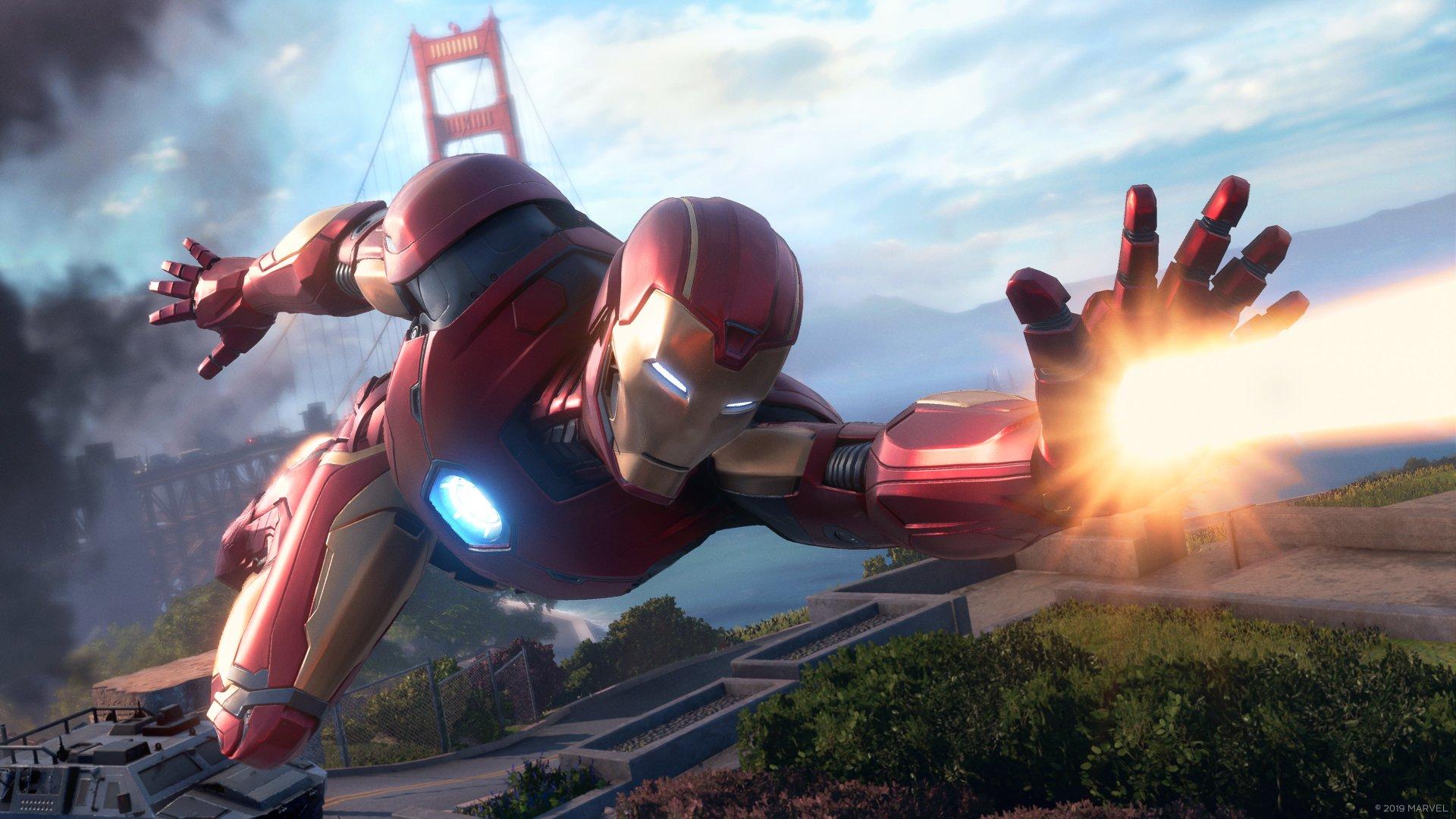 marvels avengers game ironman wallpaper 74172