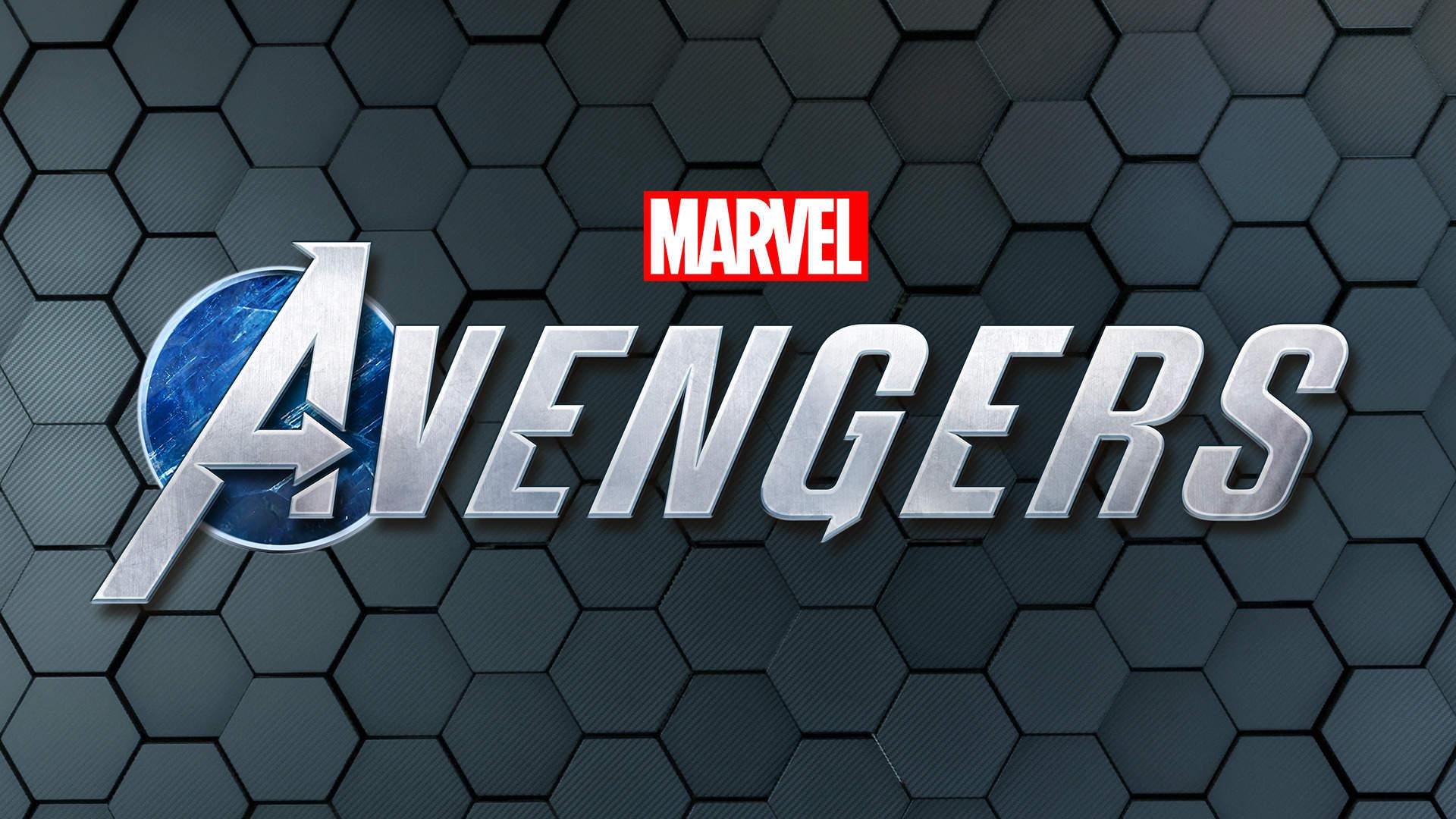 marvels avengers game logo wallpaper 74165