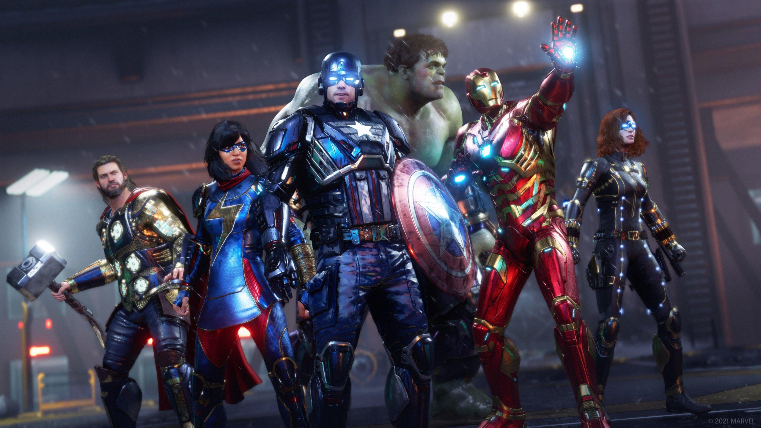 marvels avengers game ps5 wallpaper 74166