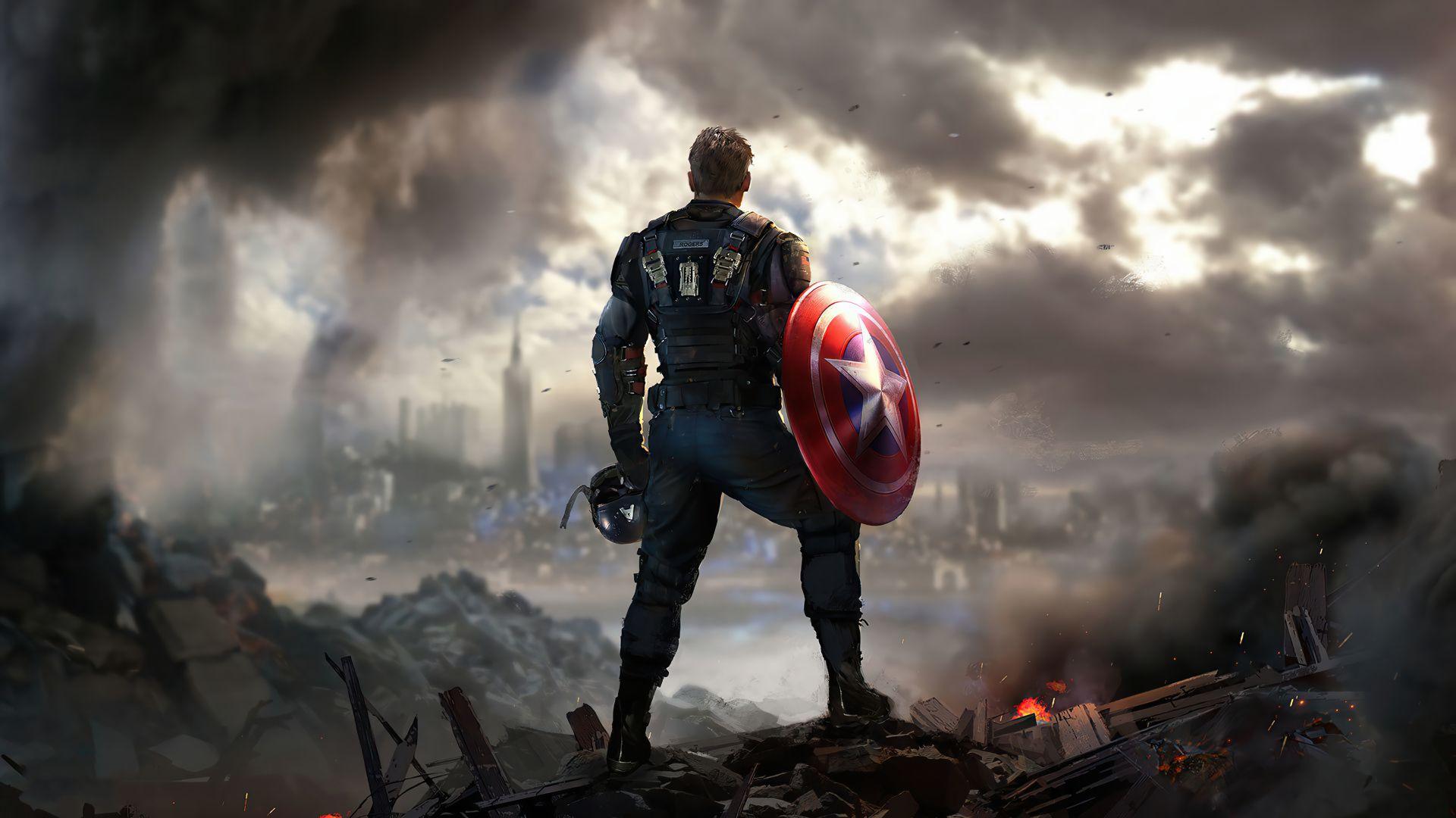 marvels avengers game wallpaper 74161