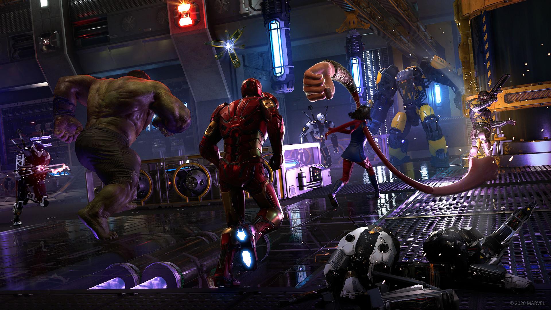 marvels avengers game wallpaper 74178