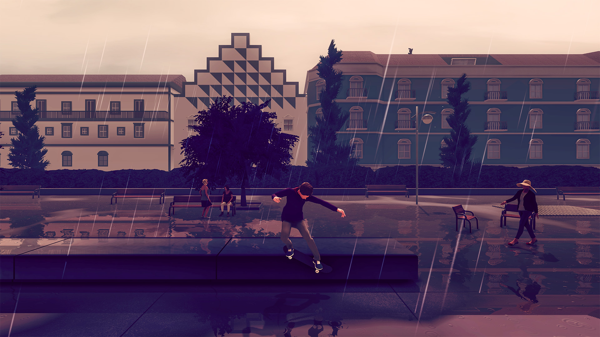 skate city game hd wallpaper 74323