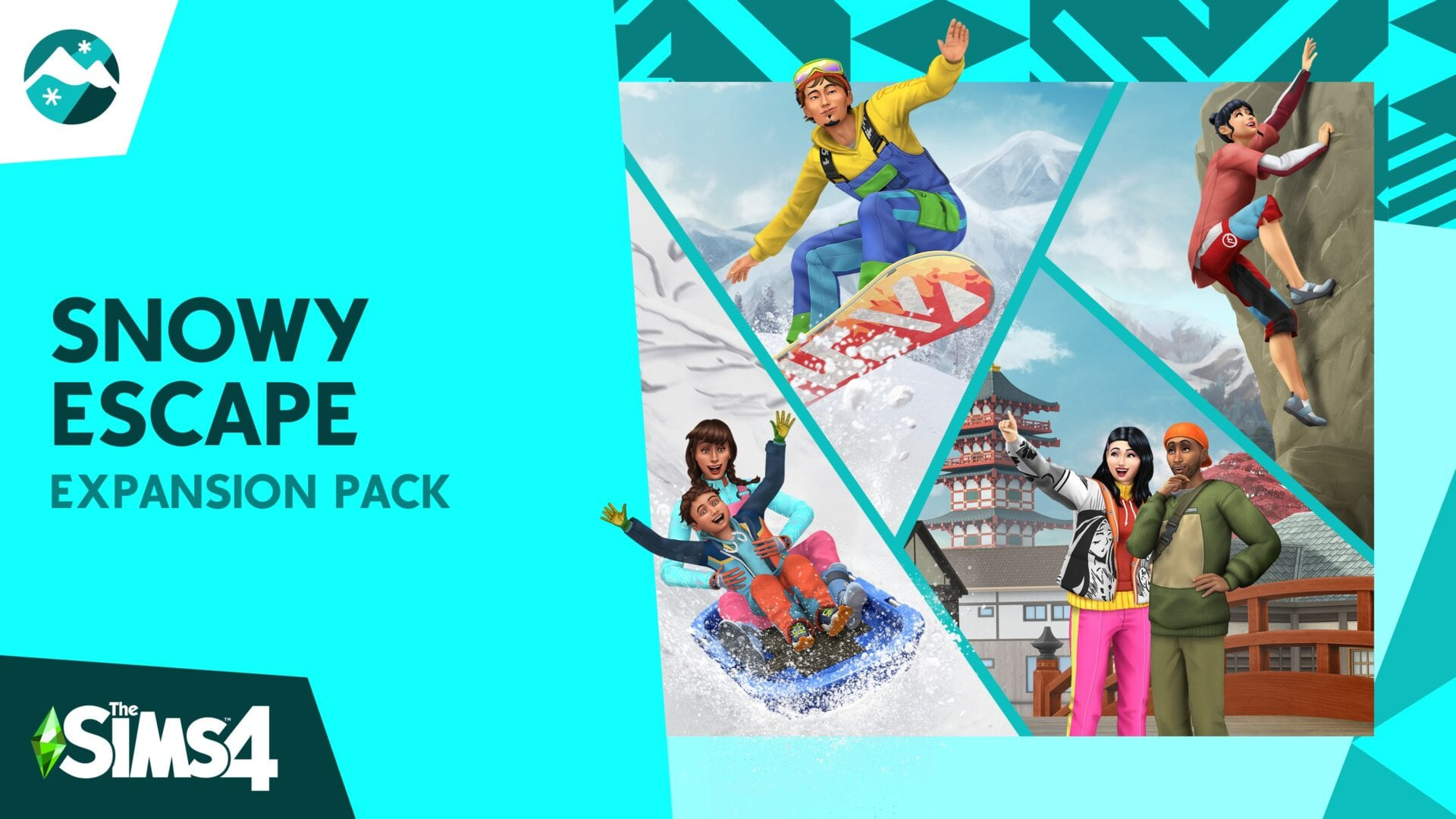 the sims 4 snowy escape expansion wallpaper 73074