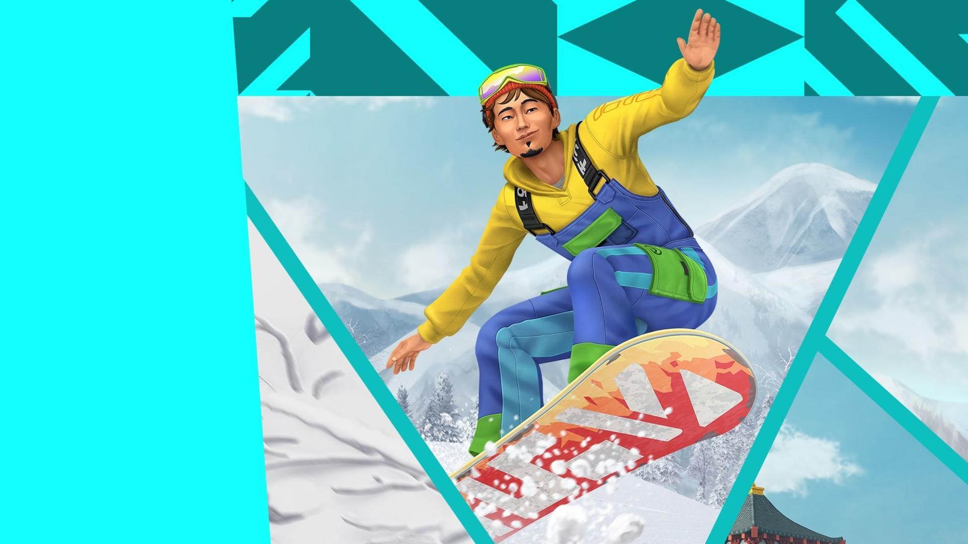 the sims 4 snowy escape game wallpaper 73073