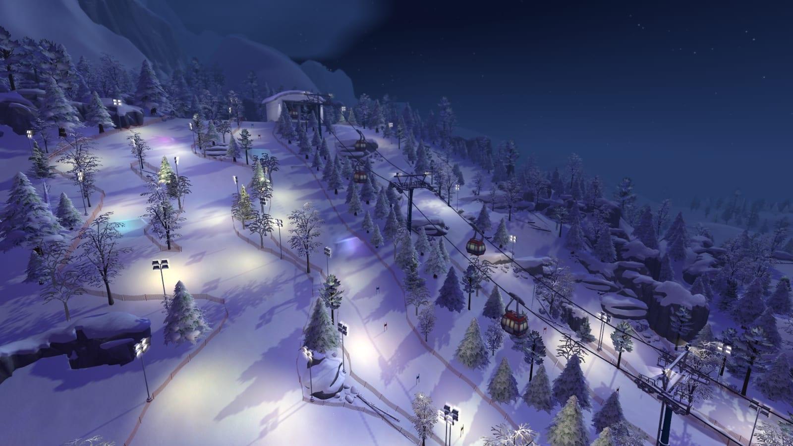 the sims 4 snowy escape photos wallpaper 73079