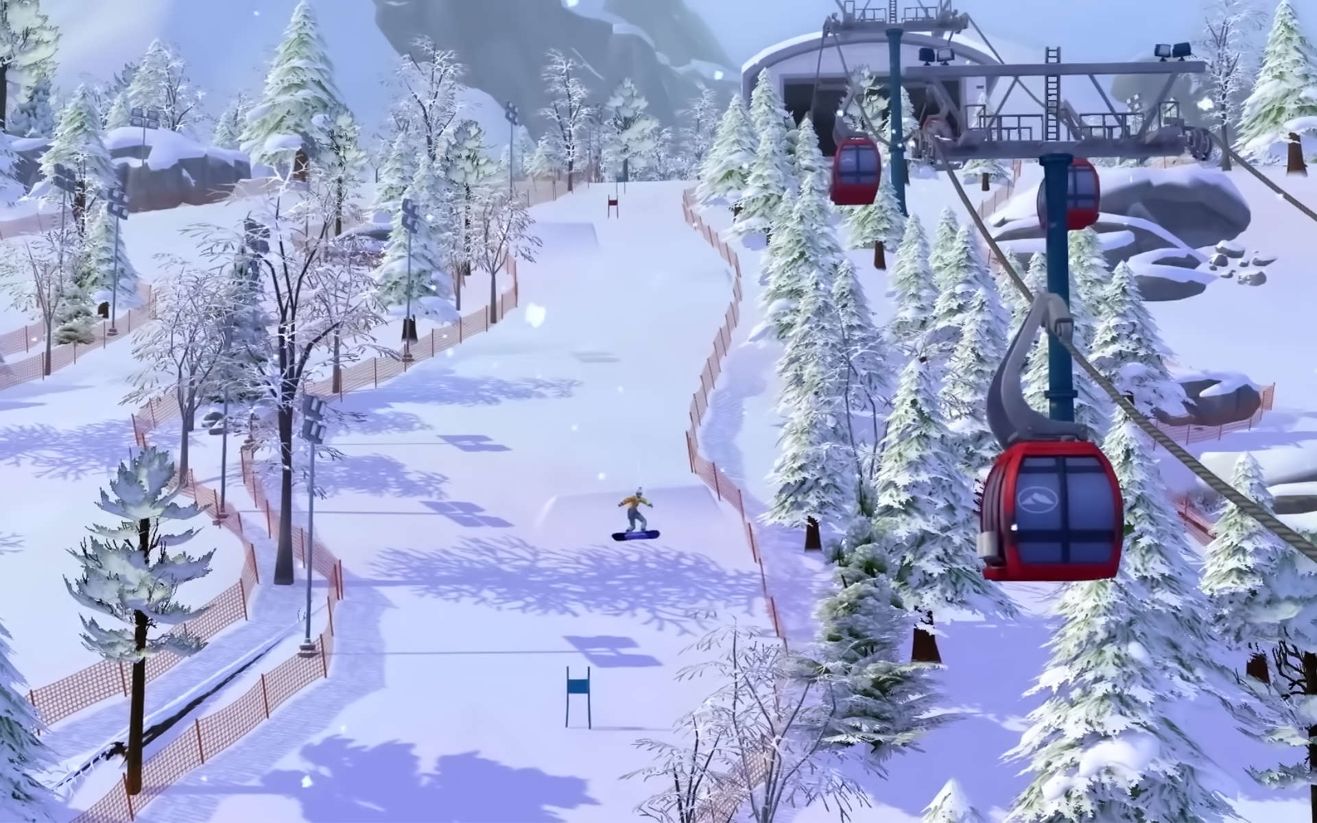 the sims 4 snowy escape pictures wallpaper 73081