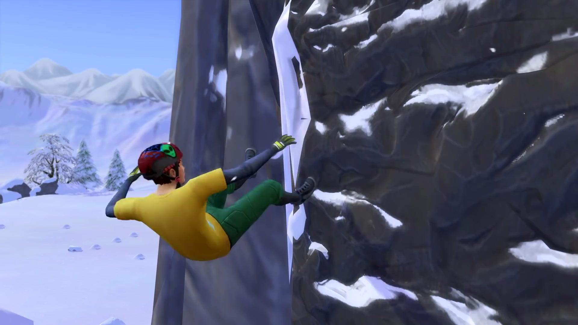 the sims 4 snowy escape wallpaper 73082
