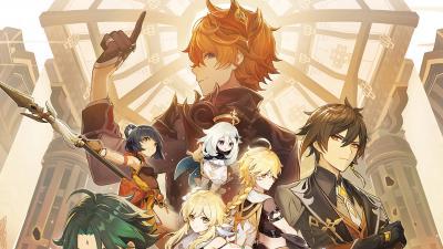 Genshin Impact Game Background Wallpaper 75031
