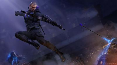Marvels Avengers Game Hawkeye Wallpaper 74167