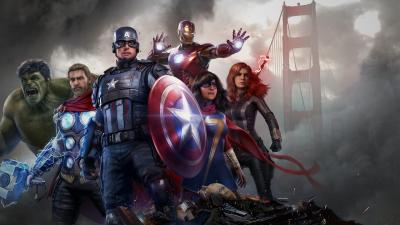 Marvels Avengers Video Game Wallpaper 74174