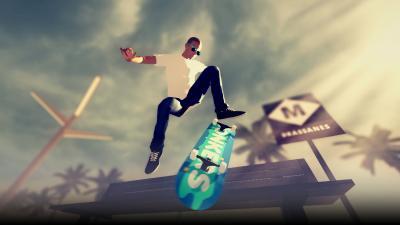 Skate City Video Game Wallpaper 74327