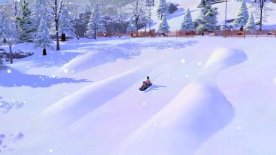 The Sims 4 Snowy Escape Wallpaper 73072