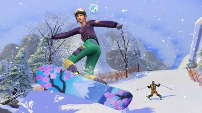 The Sims 4 Snowy Escape Wallpaper 73077