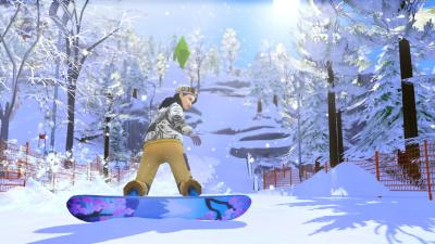 The Sims 4 Snowy Escape Wallpaper 73080