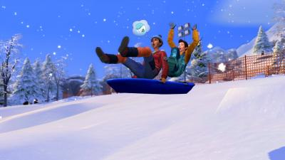 The Sims 4 Snowy Escape Wallpaper 73085