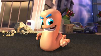 Worms Rumble HD Wallpaper 72981
