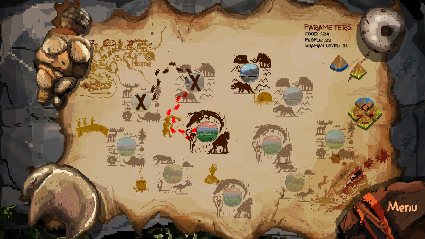 tribal pass game menu wallpaper 74010
