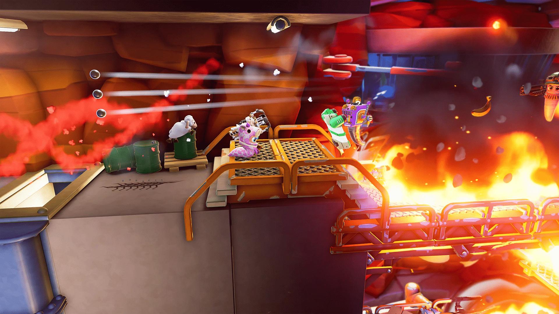 worms rumble gameplay wallpaper 72971