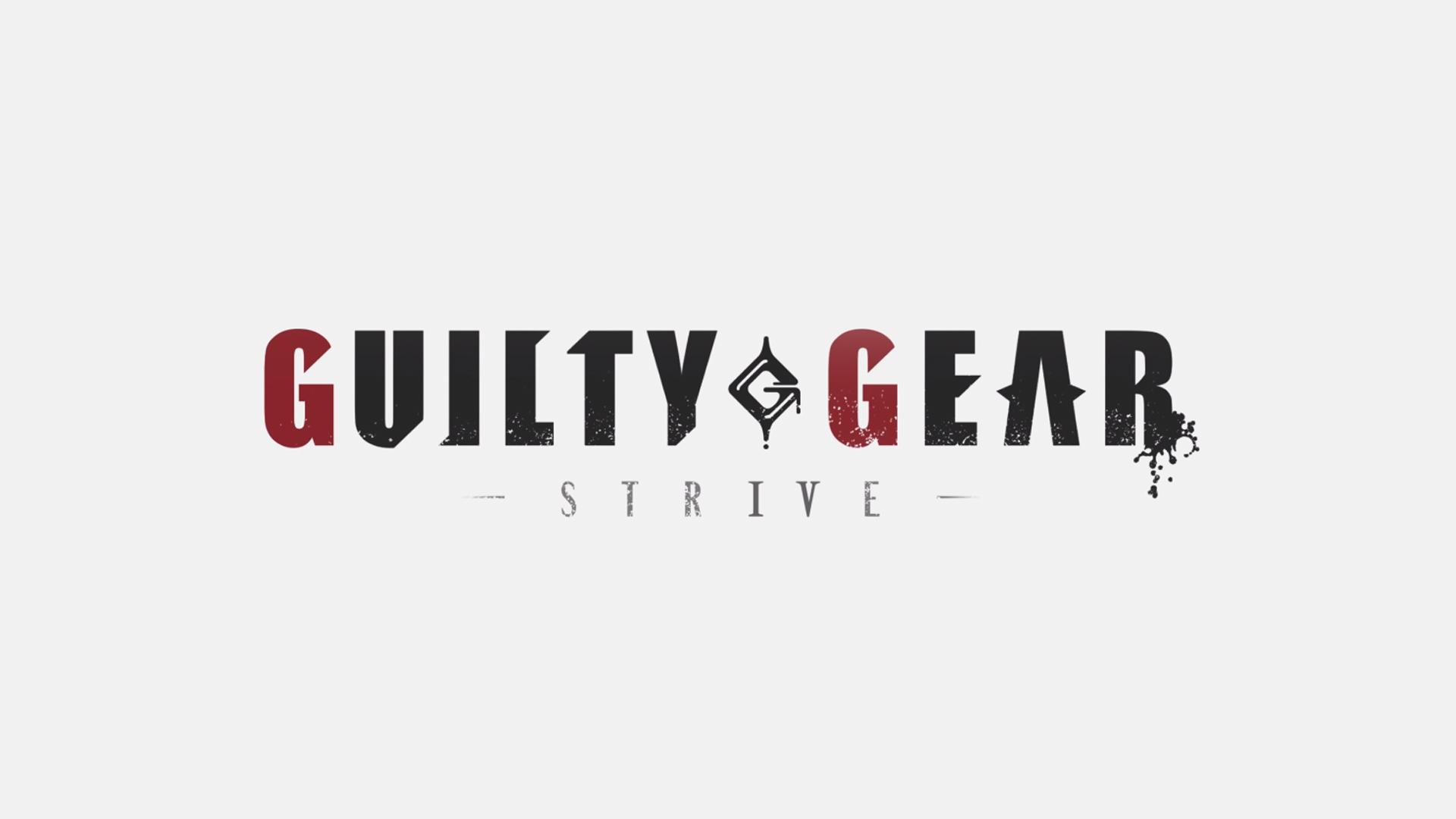 guilty gear strive logo wallpaper 73128