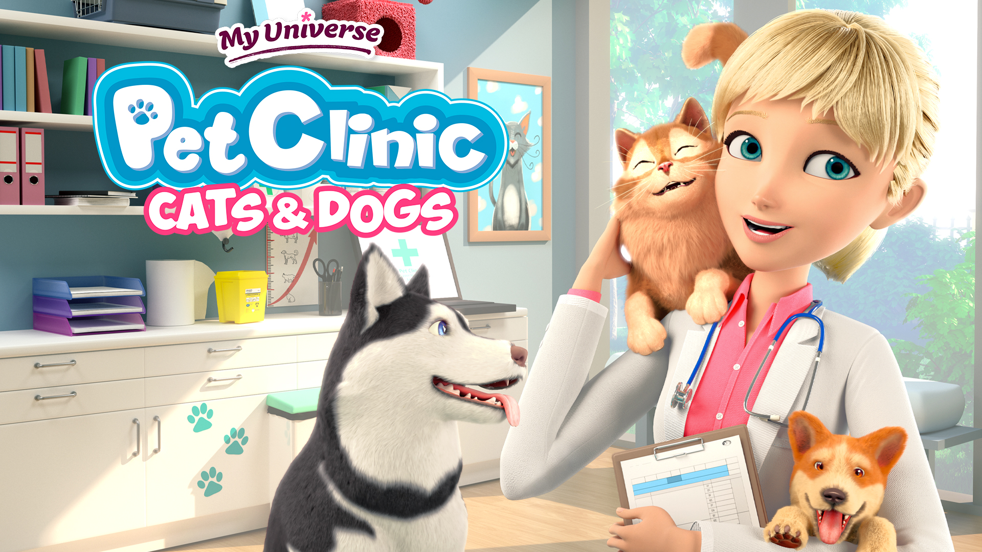 my universe pet clinic cats and dogs video game wallpaper 73518