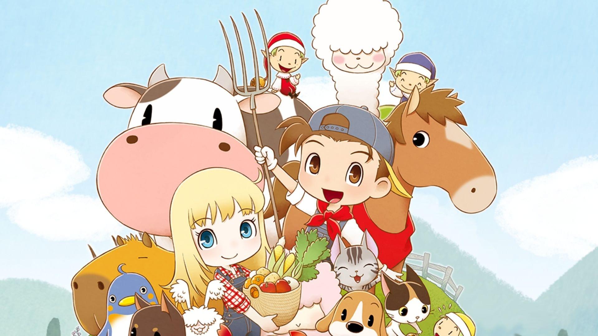 story of seasons pioneers of olive town game wallpaper 73164