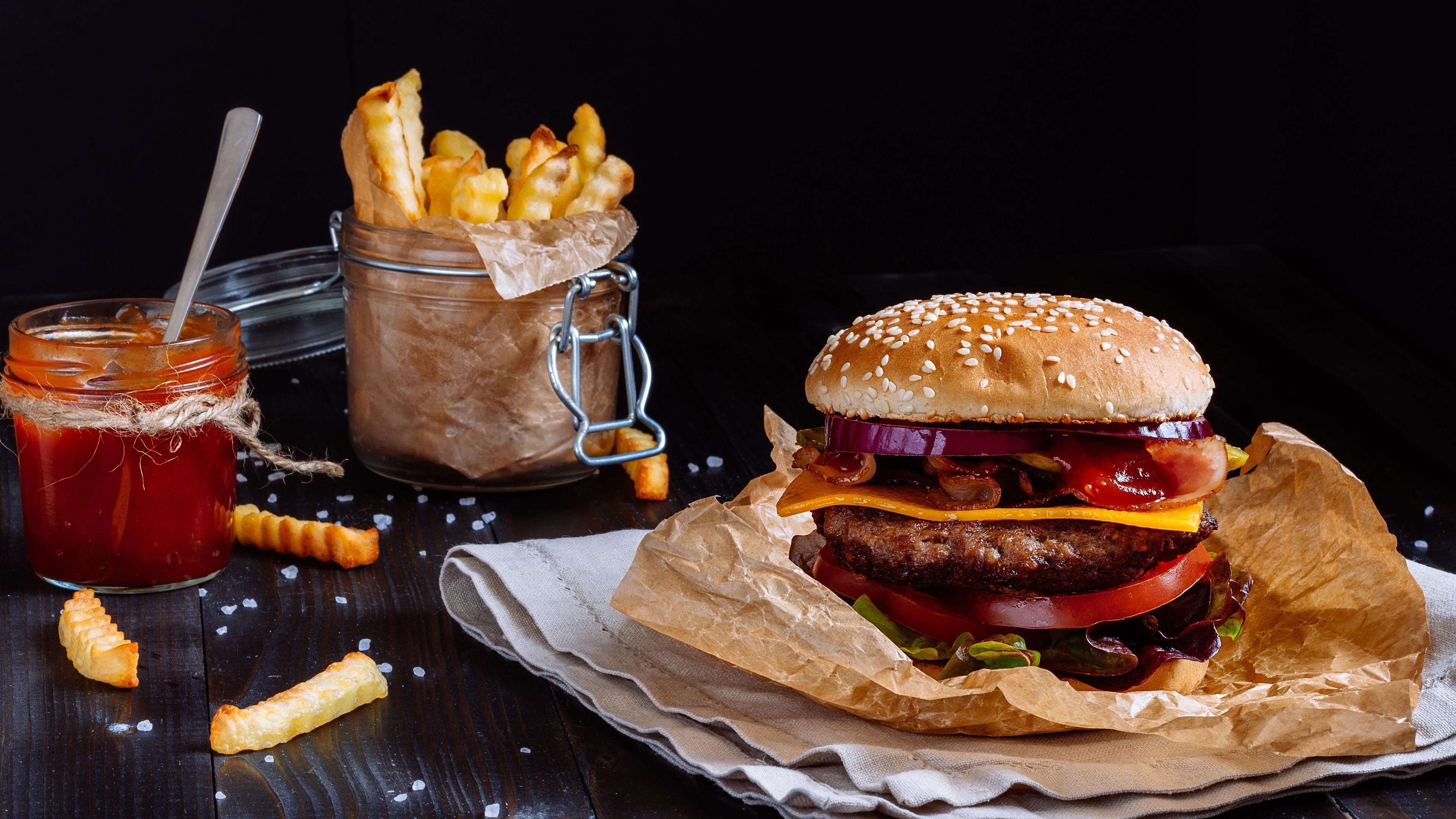 fast food hamburger hd wallpaper 74107