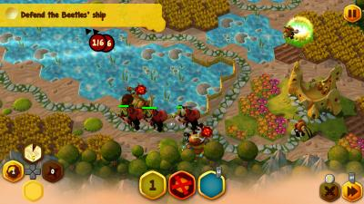 BeeFense BeeMastered Video Game Wallpaper 74711