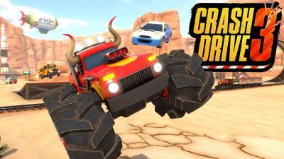 Crash Drive 3 Background Wallpaper 74933
