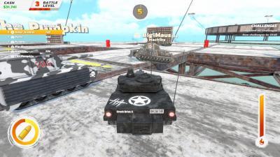 Crash Drive 3 Tank Wallpaper 74935