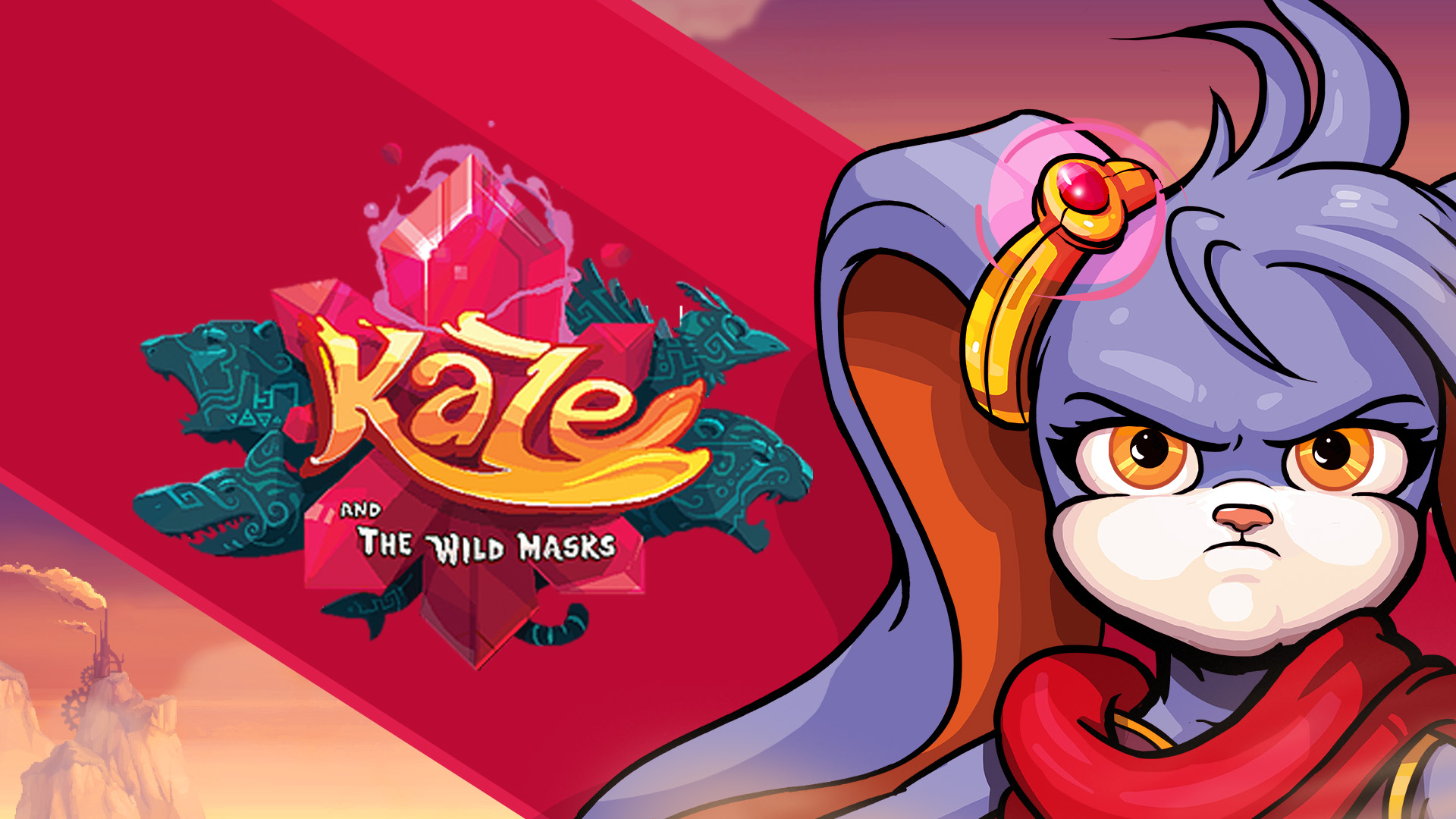 kaze and the wild masks video game wallpaper 73717