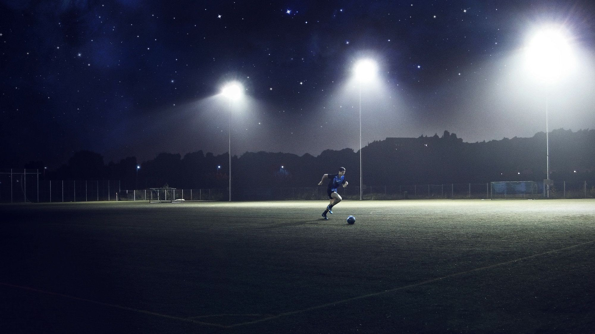 night soccer wallpaper 73902