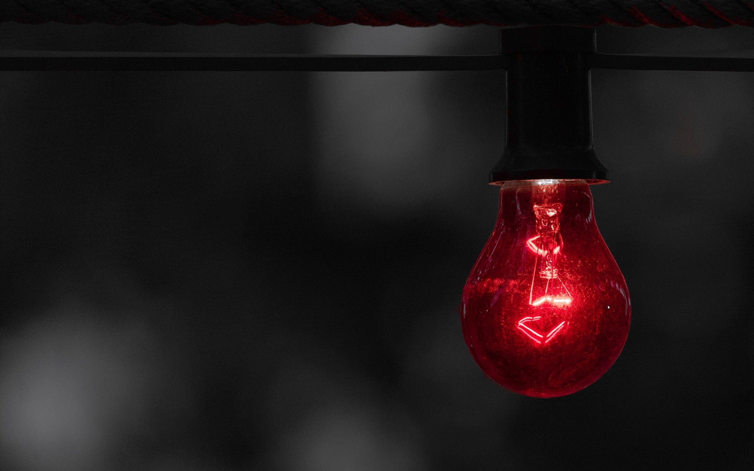red light bulb hd wallpaper 73704