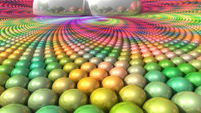 3D Ball Surface Wallpaper 73037