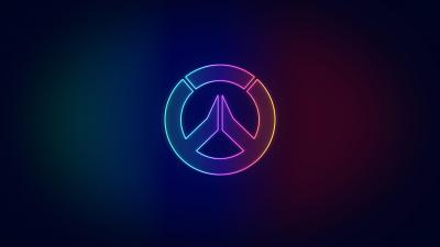 Neon Overwatch Logo Wallpaper 73660