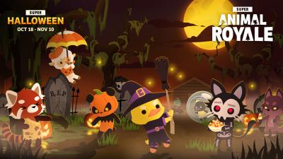 Super Animal Royale Halloween Wallpaper 75182