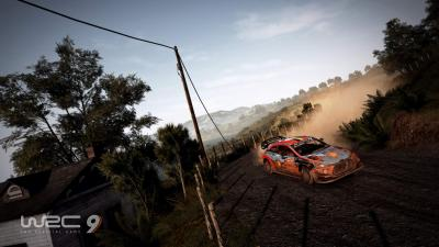 WRC 9 Background Wallpaper 72894