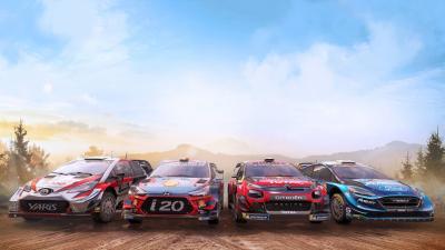 WRC 9 Background Wallpaper 72900