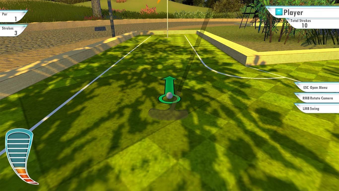 3d minigolf gameplay wallpaper 74632