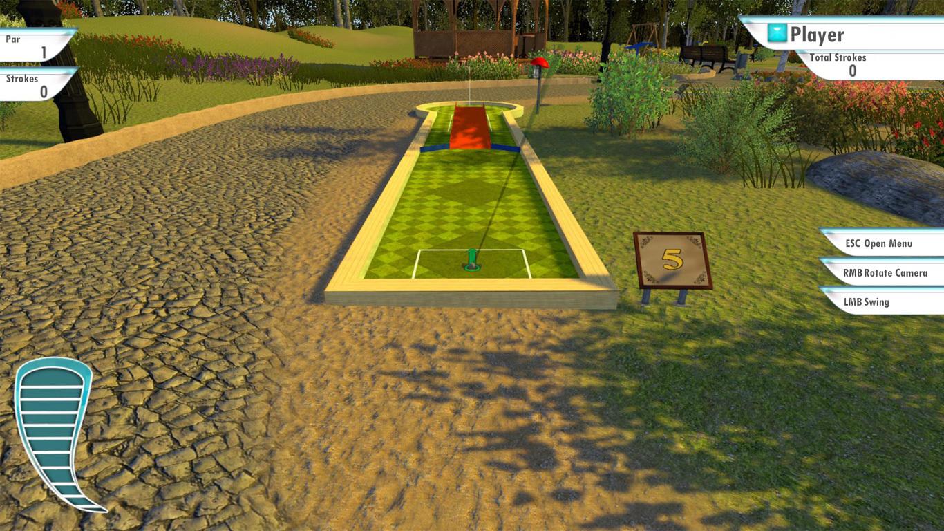 3d minigolf screenshot wallpaper 74631