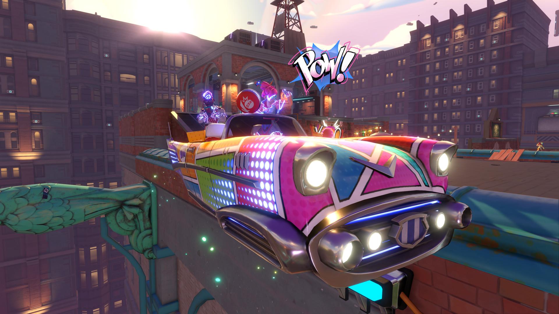 knockout city car wallpaper 74538