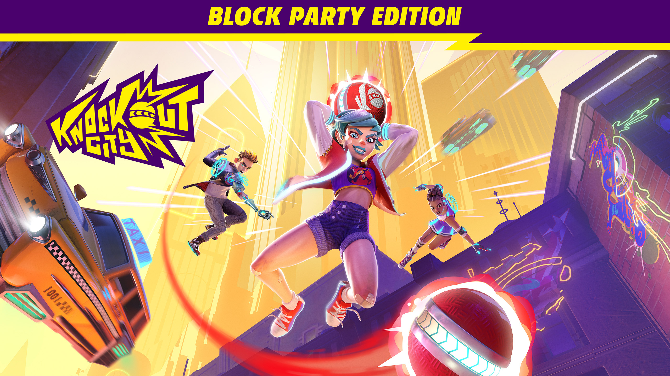 knockout city game block party wallpaper 74529