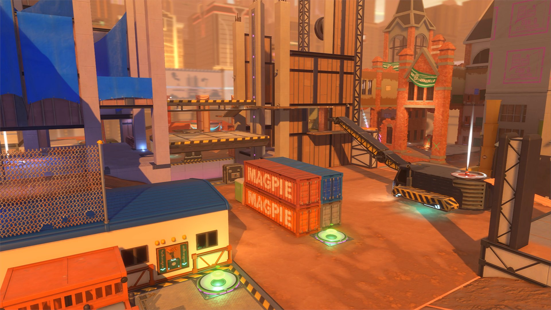 knockout city video game map wallpaper 74533