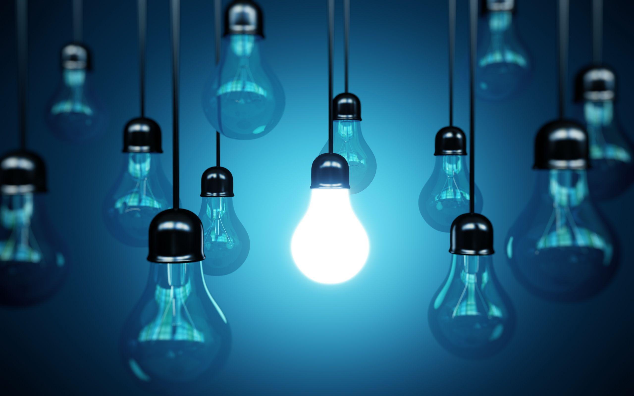 light bulbs wallpaper 73706