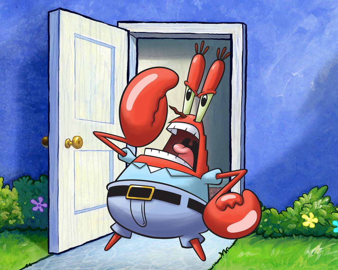 mr krabs yelling wallpaper 73173