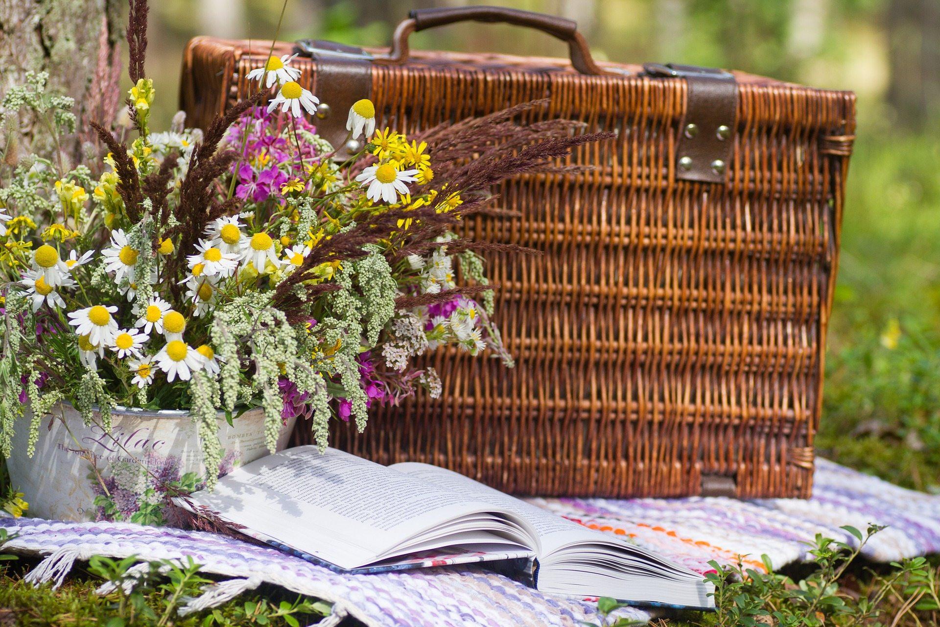 picnic basket hd wallpaper 73170