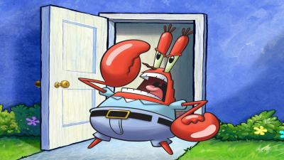 Mr Krabs Yelling Wallpaper 73173