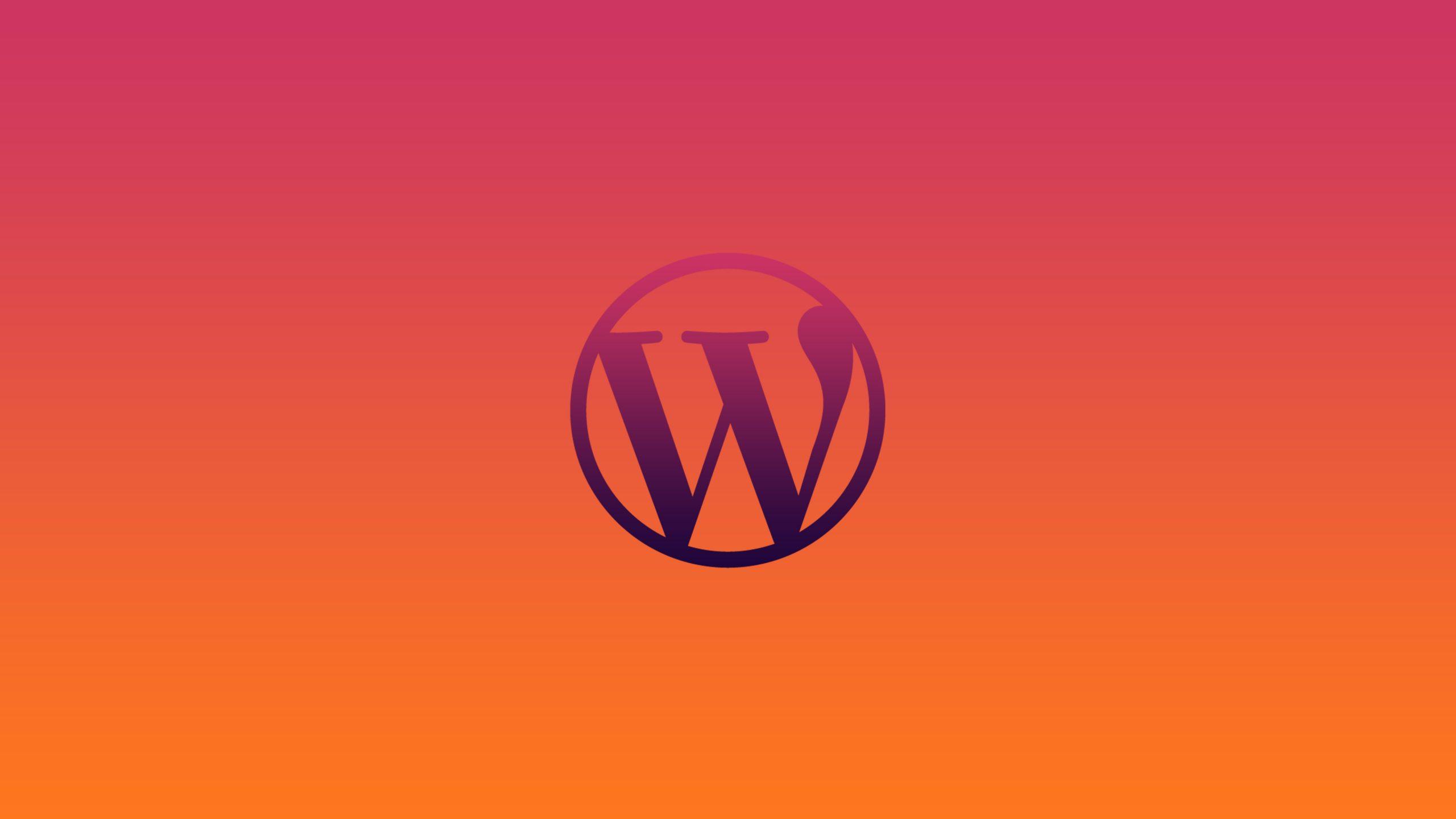 wordpress logo background wallpaper 74194