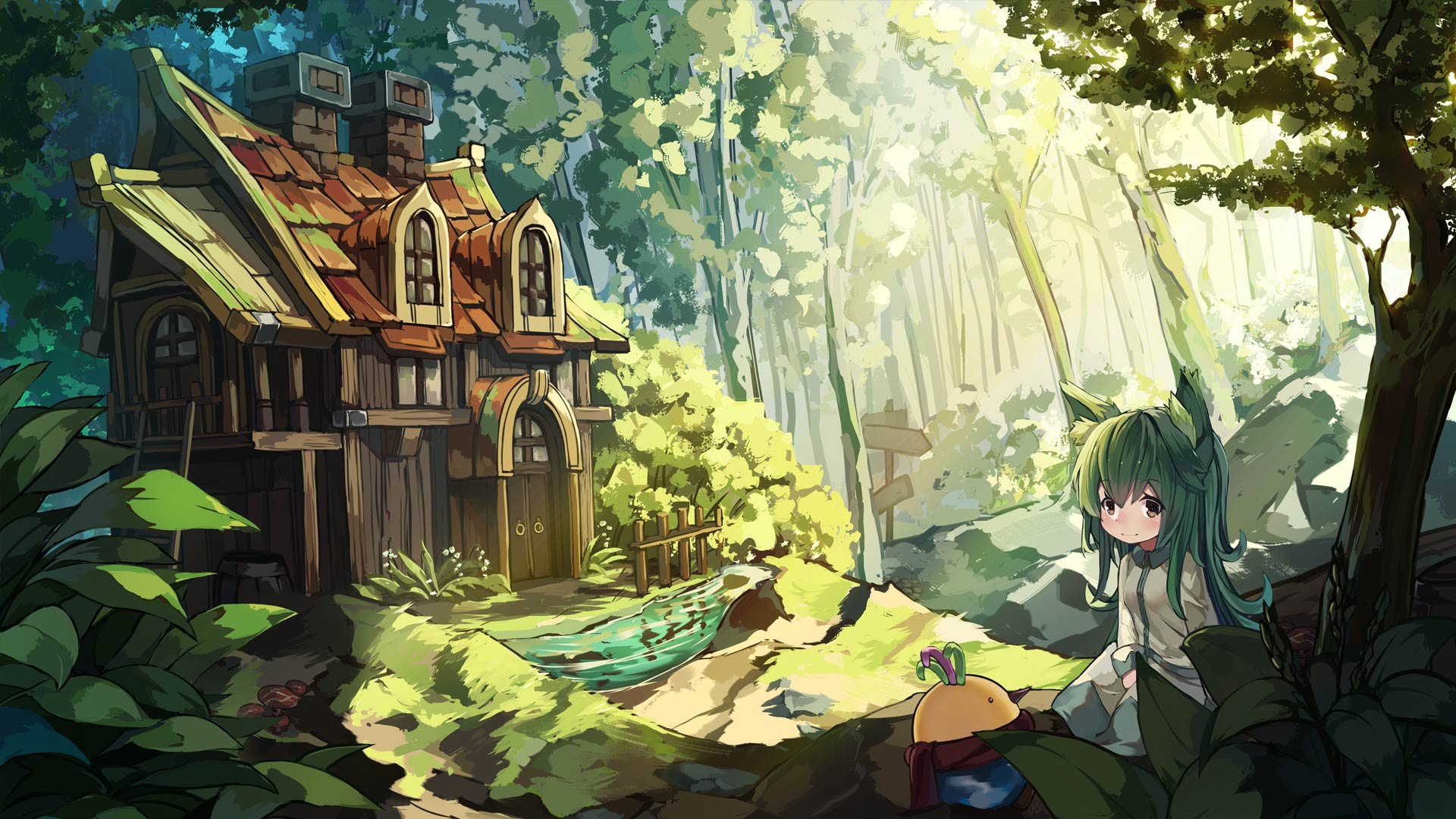 marchen forest game wallpaper 73422