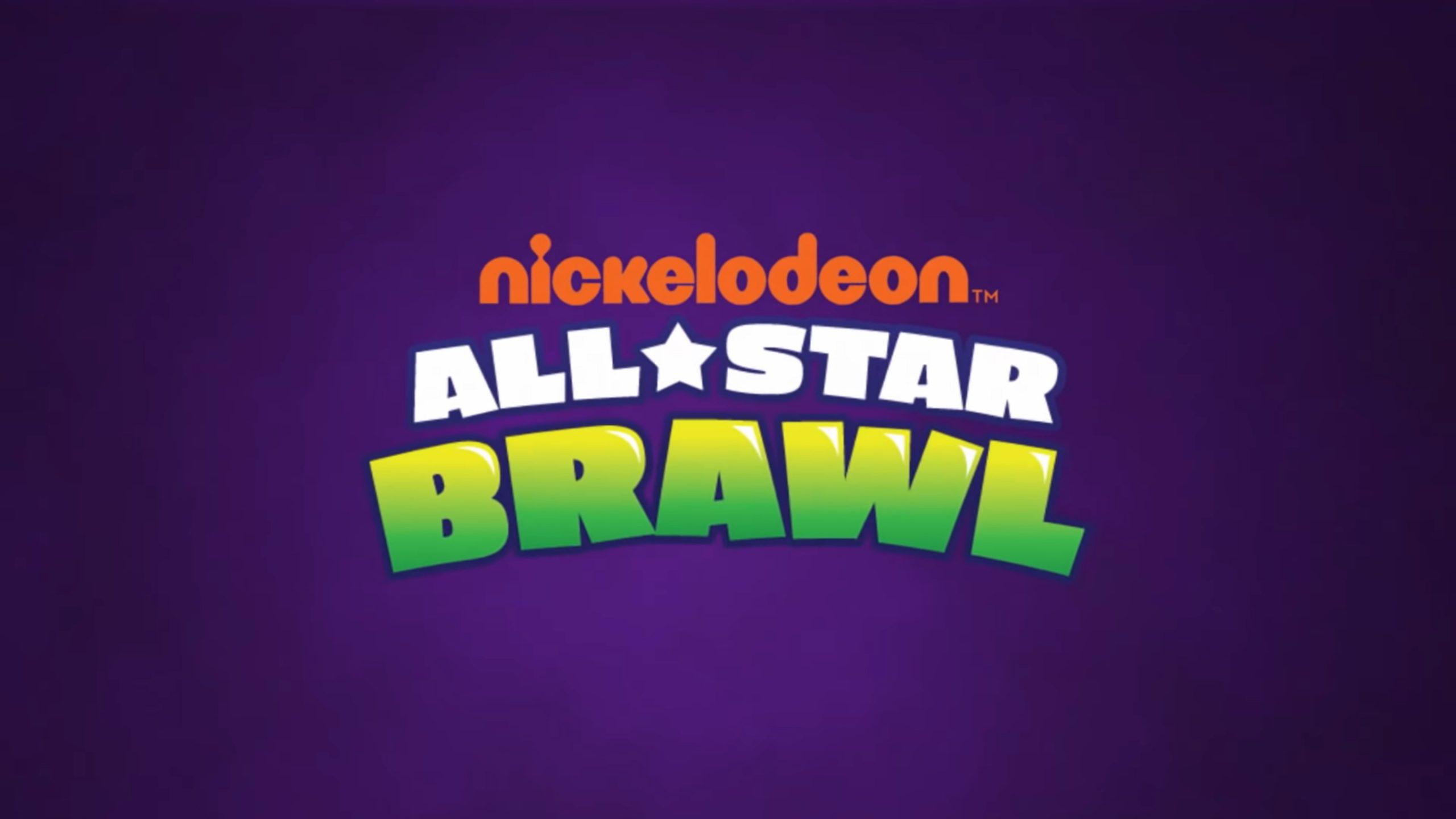 nickelodeon all star brawl logo wallpaper 75905